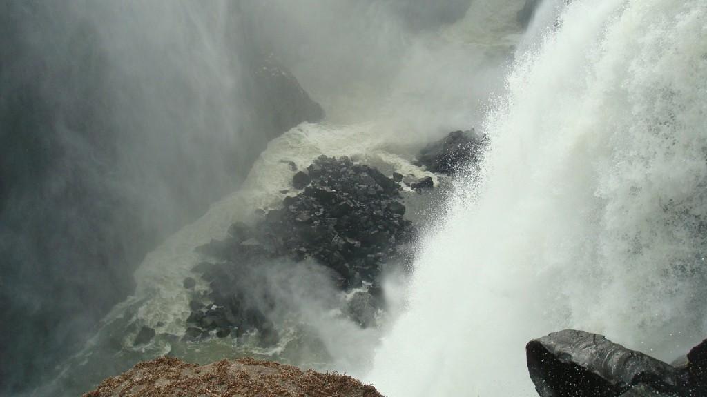 Rocks at Victoria Falls